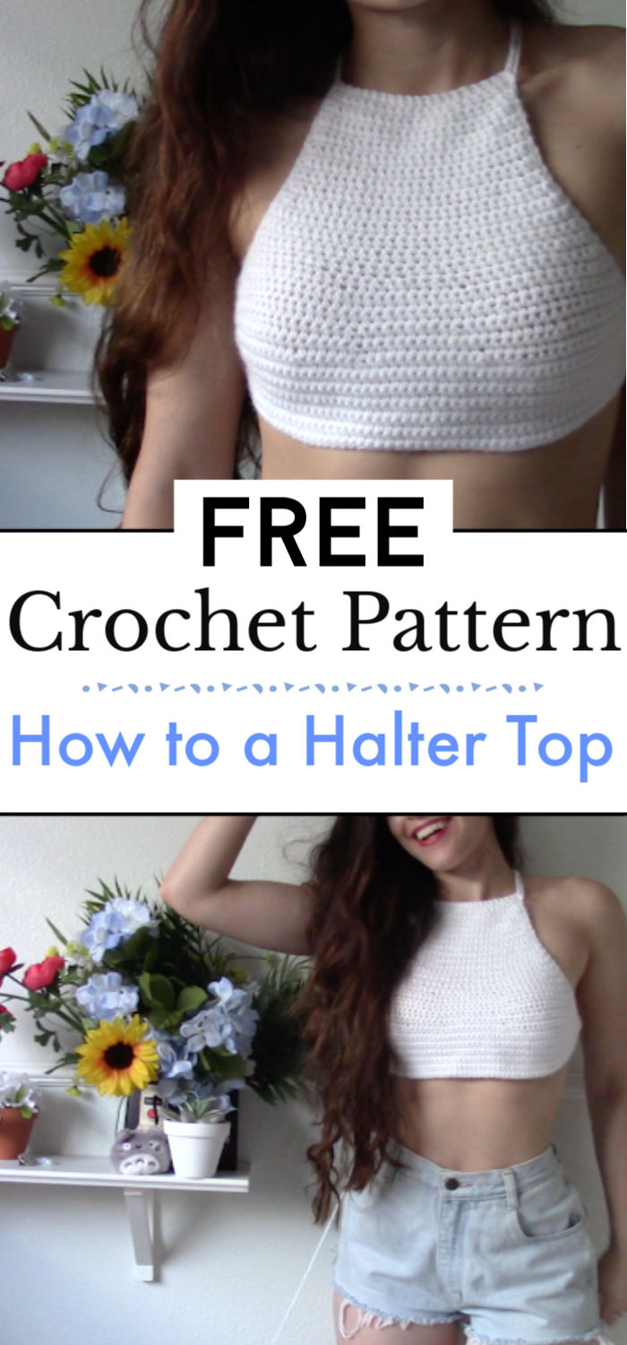 How to Crochet a Halter Top
