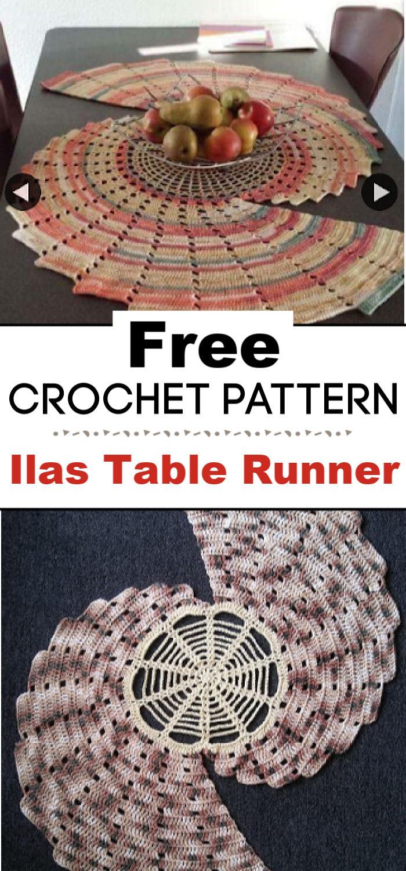 Ilas Table Runner Free Crochet Pattern