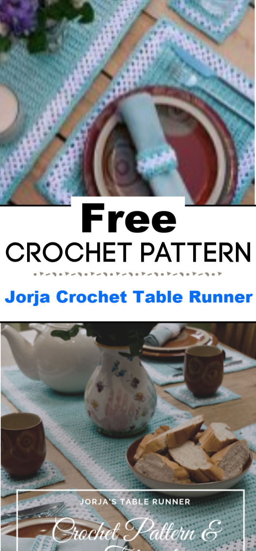 Jorja Crochet Table Runner Pattern