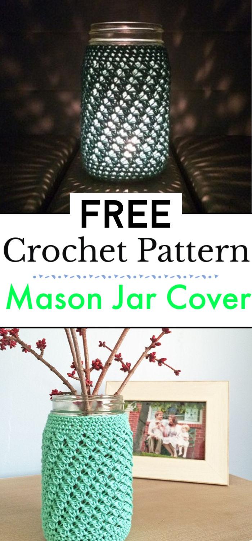 Mason Jar Cover Free Pattern