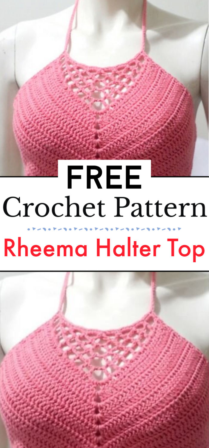 Rheema Halter Top