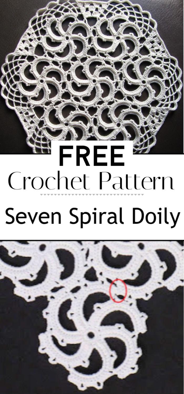 Seven Spiral Doily