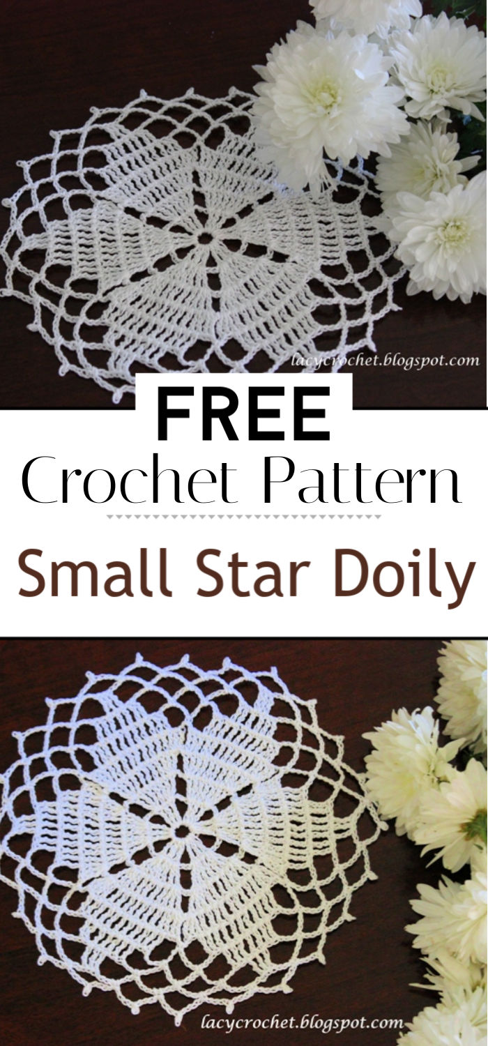 Small Star Doily Free Pattern