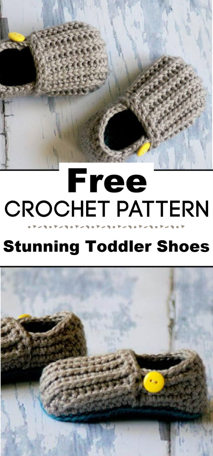 Stunning Crochet Toddler Shoes