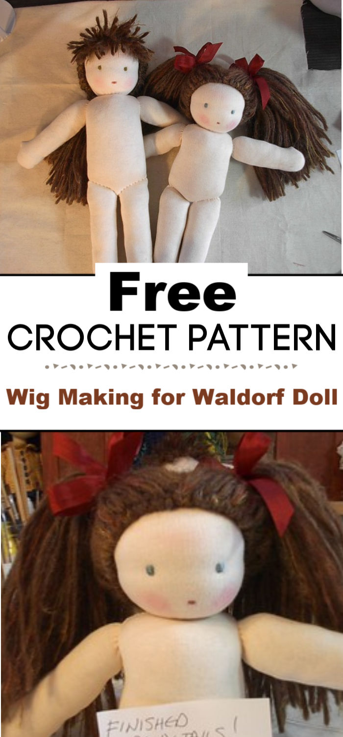 Wig Making for Waldorf Doll